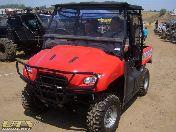 Prairie City SVRA uses Honda Big Red