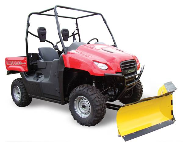 Get Ready for Winter Snow with a Moose V-Plow for UTVs