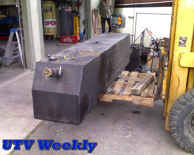 Repairing a Leaking Diesel Motorhome Fuel Tank
