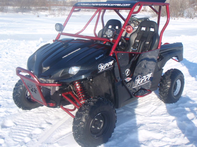 Any Given Sunday…On The Pond – A Turbo Kawaski Teryx on the Ice