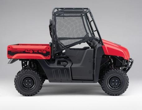 Honda announces 2011 Big Red MUV
