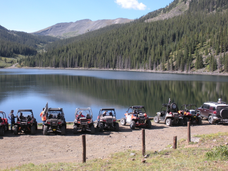 Riding The Mountains Of Colorado With Polaris Rzrs Utv