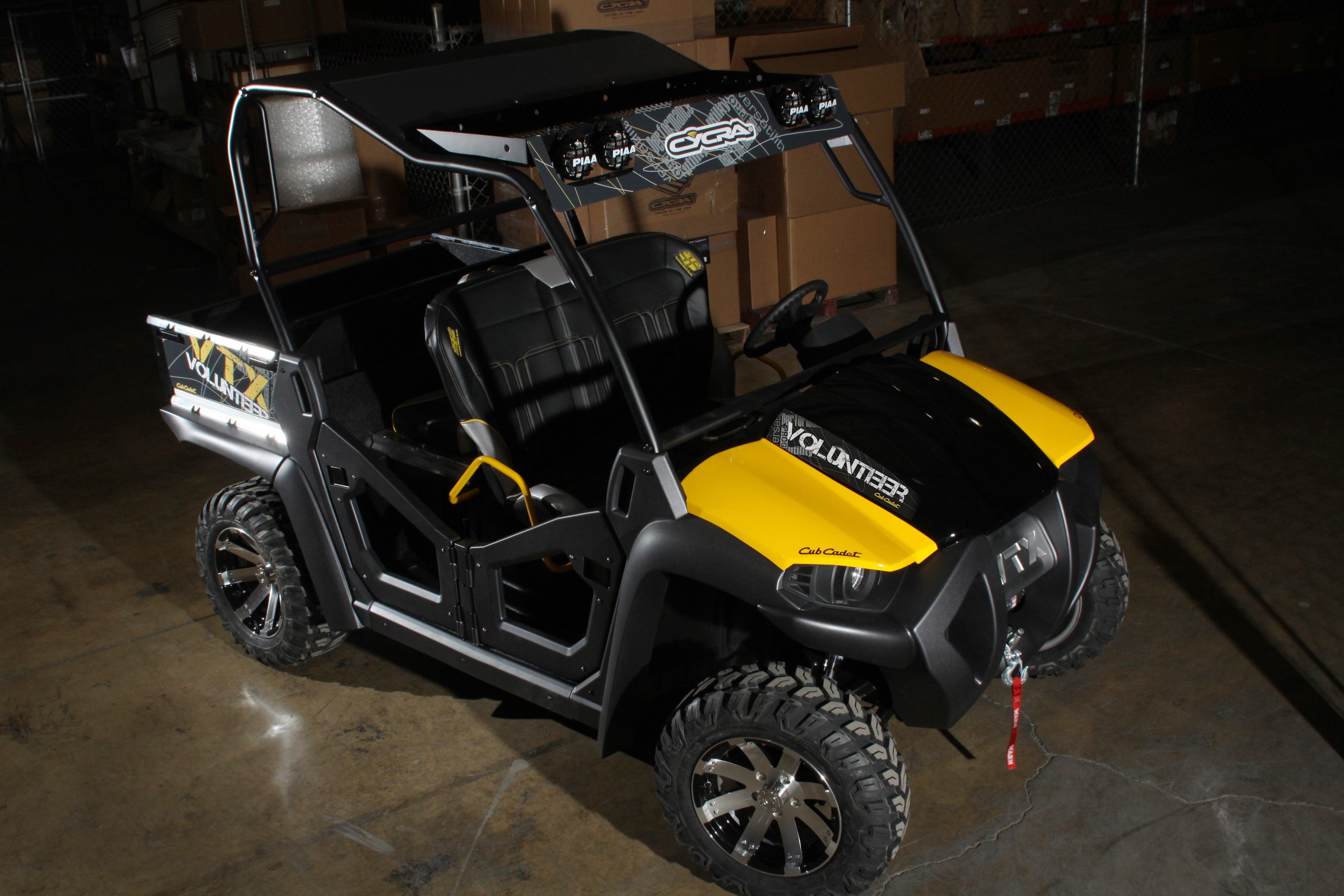 NEW VOLUNTEER VTX CROSS OVER CONCEPTS TAKES CLAIM IN NEW UTV CLASS AT SEMA