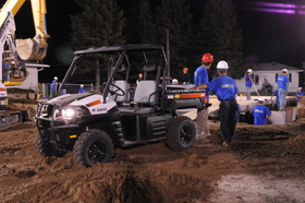 """Bobcat Company and local dealer help a neighbor on """"Extreme Makeover: Home Edition"""" project"""