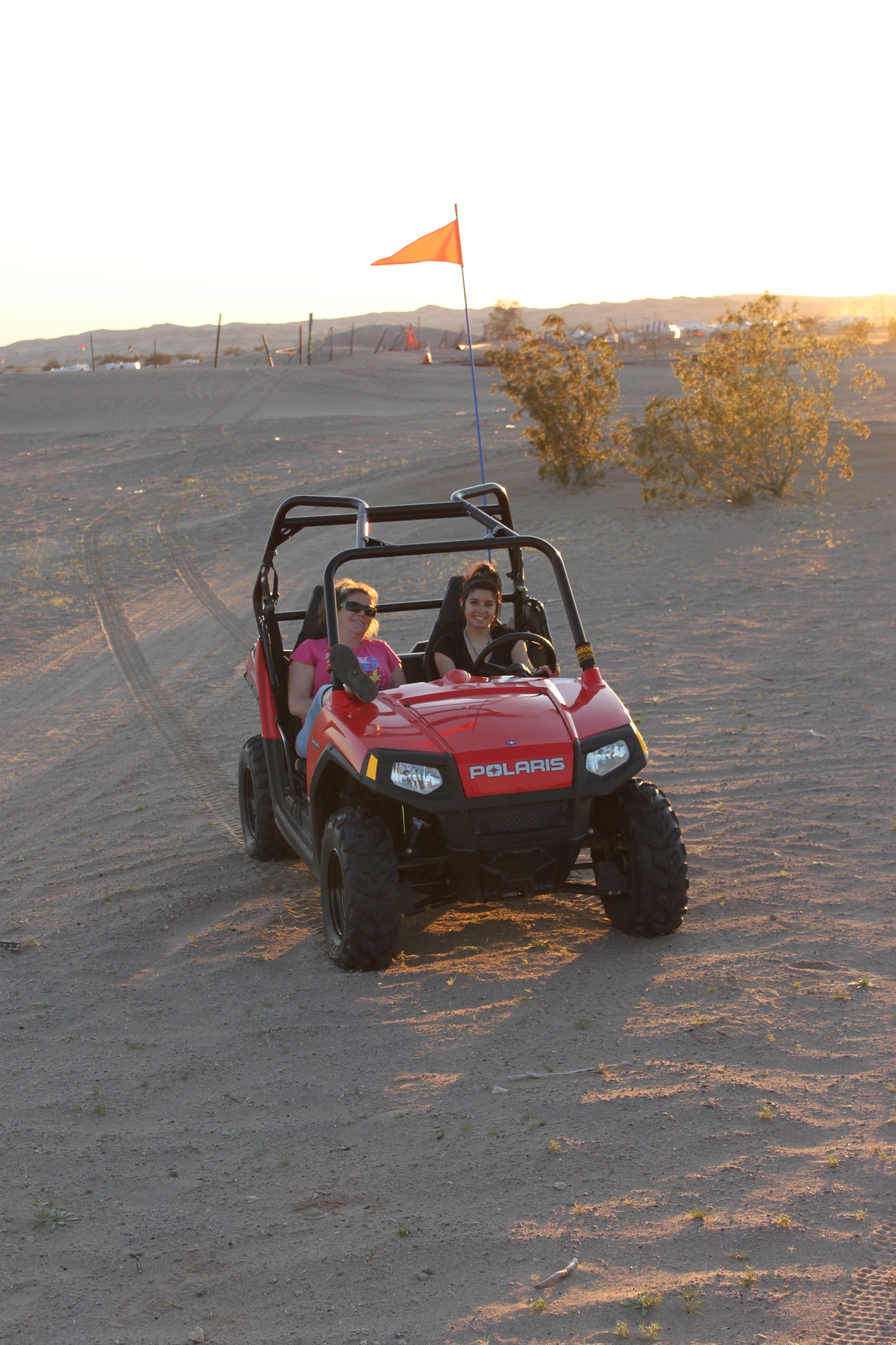 Off-road Enthusiasts Opt for Glamis During Easter Weekend