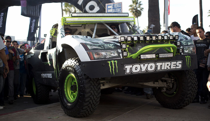 "Rigid Industries And ""Ballistic"" BJ Baldwin Break New Ground In Baja"