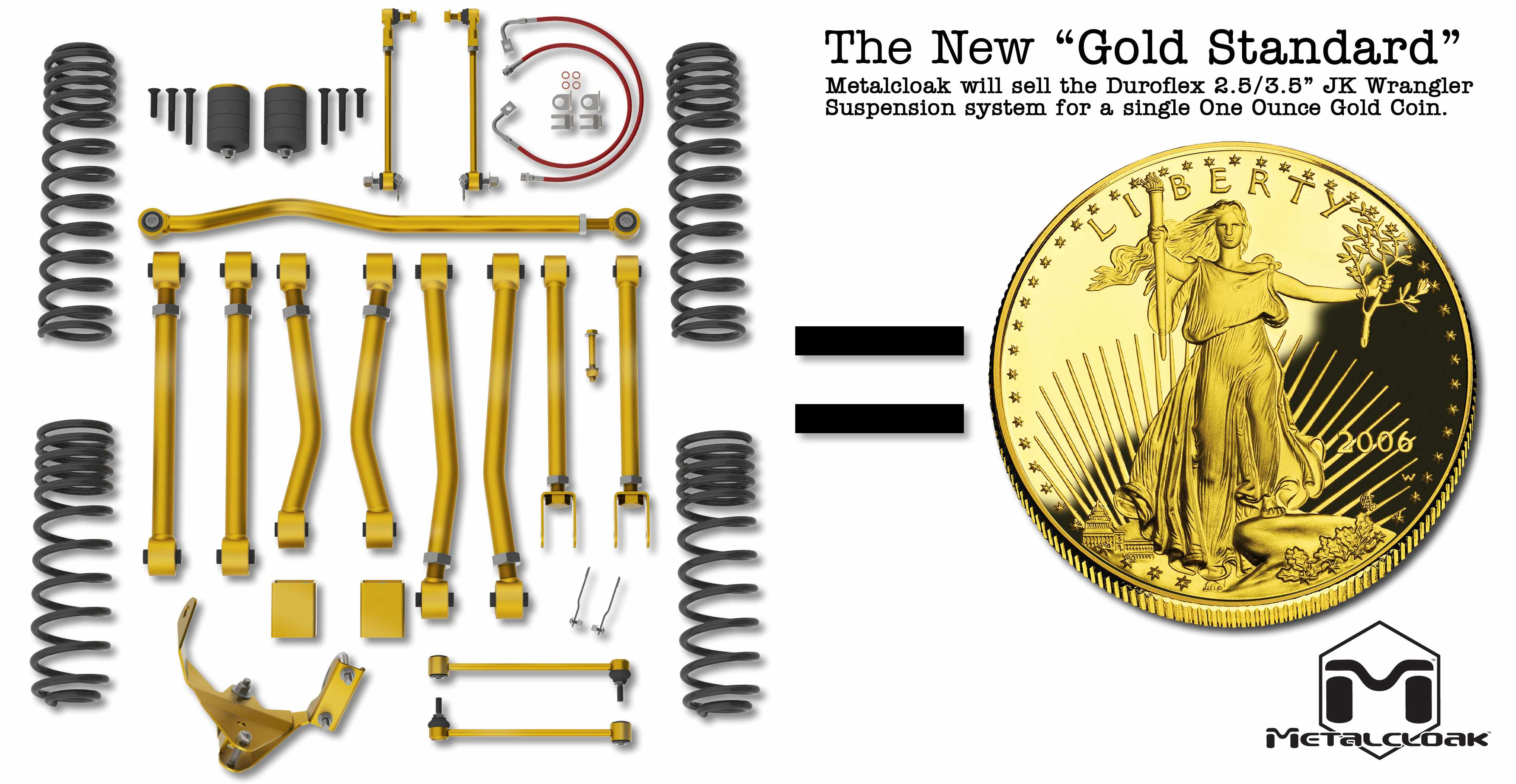 "Metalcloak Adopts the ""Gold Standard"""