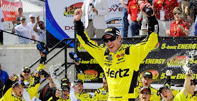Logano Makes History at Dover