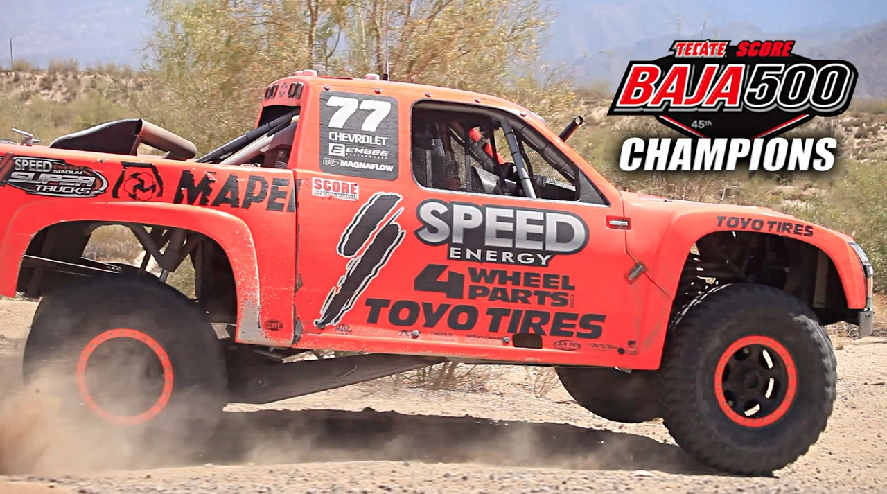 SPEED Energy Takeover at the 45th Annual Baja 500