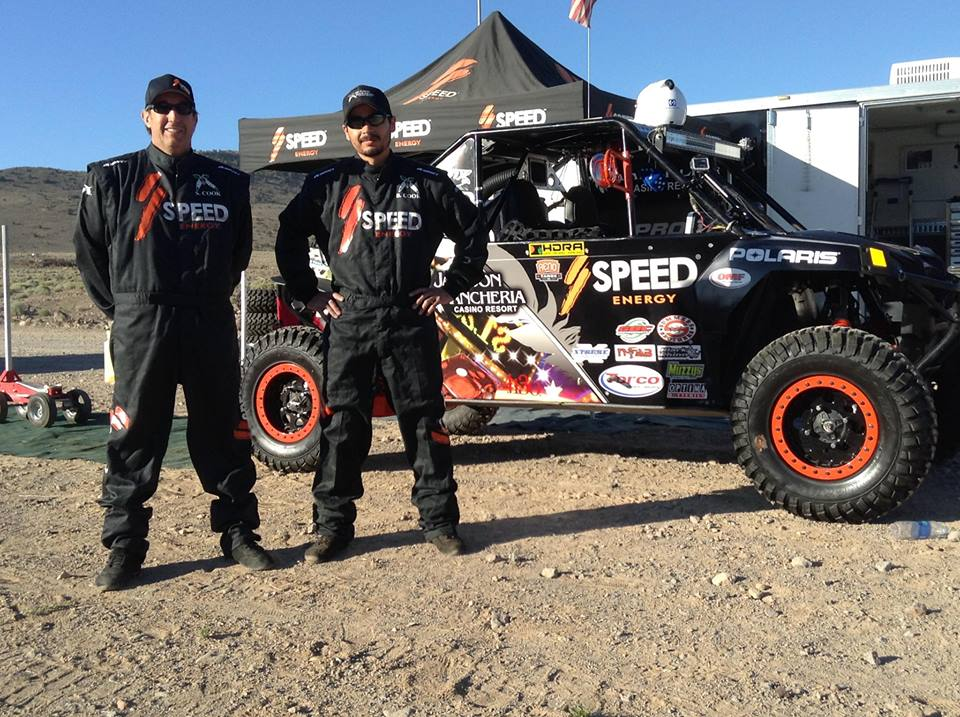 SPEED ENERGY / JACKSON RANCHERIA UTV TAKES 1ST AT EL DORADO 500
