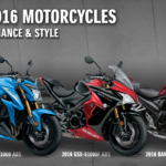 Suzuki Announces 2016 Motorcycles